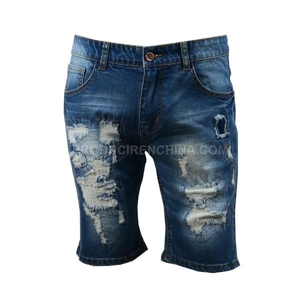 Jeans de hombre corto. Cómodo y cool.