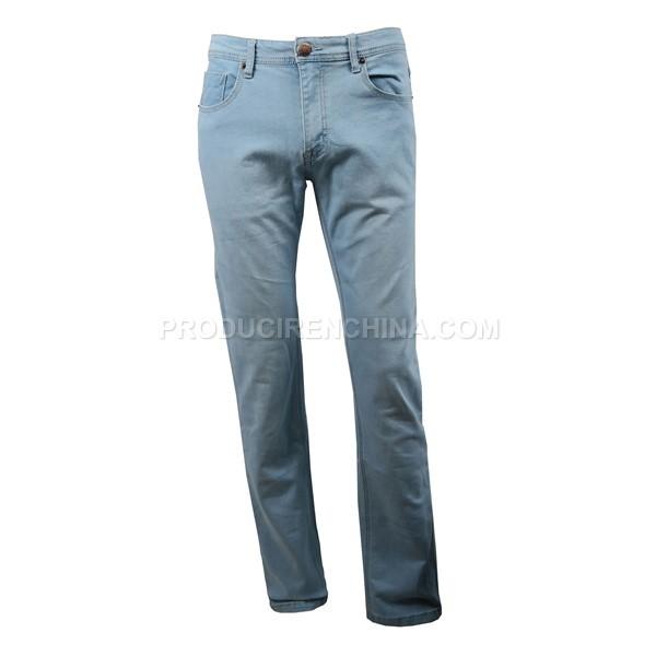 Jeans de corte delgado. Pantalón elegante fabricado en China.
