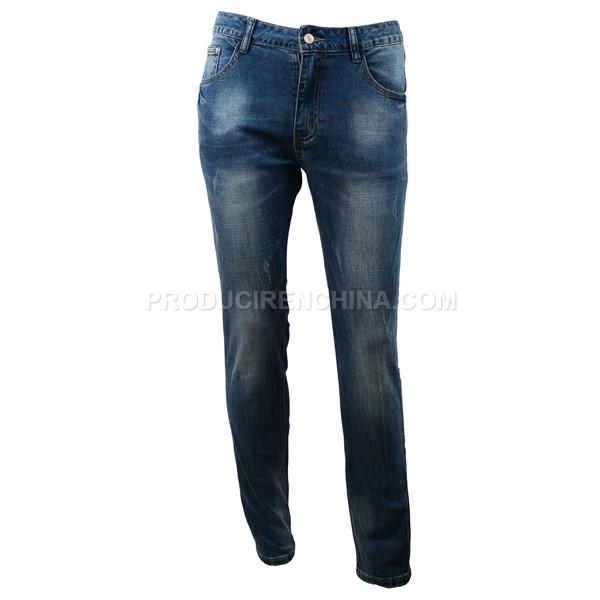 Jeans de hombre, pantalón de calidad, pantalón elegante fabricado en China