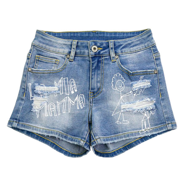 Shorts con apliques