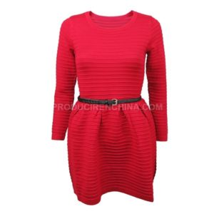 Customized Sweater Dress Made by CTS in China