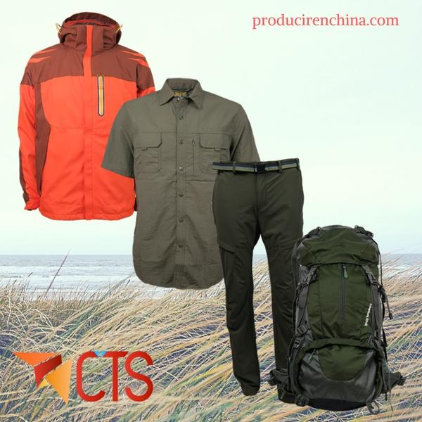 fabricación de ropa outdoor, producción de indumentaria en China, ropa outdoor, indumentaria, marca