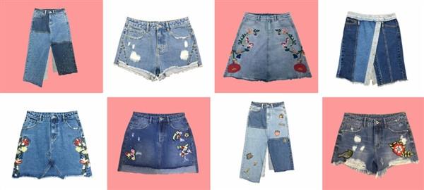 Faldas y shorts producidos en China a medida con CTS. Todos nuestros diseños pueden tener su marca.