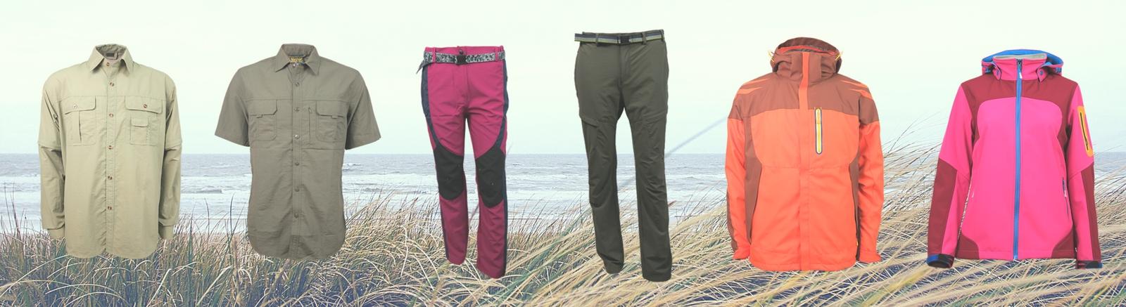producción de ropa en China, fabricación de ropa outdoor, marca,