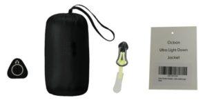 Accesorios usados durante la fabricación de camperas de pluma para la marca OCBAN.