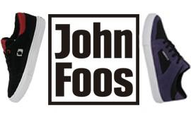 Muestras de producción para la marca John Foos. Muestras de capelladas y zapatillas vulcanizadas.