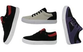 Muestras de producciónde zapatillas para la marca John Foos.