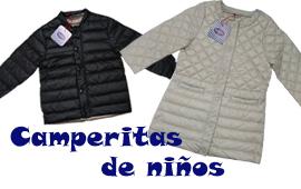 Producción de camperitas de niños para la marca conocida PIOPPA.