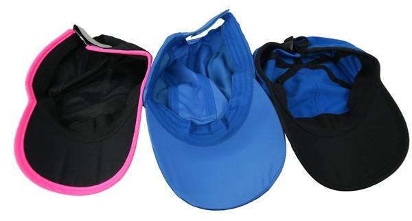 La capa interna de gorras deportivas. La gorras deportivas pueden proteger contra el sol y calor extrerno.