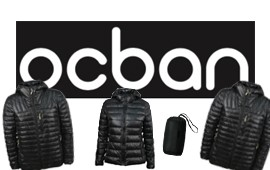 Adult down jacket manufacturing project for OCBAN brand.